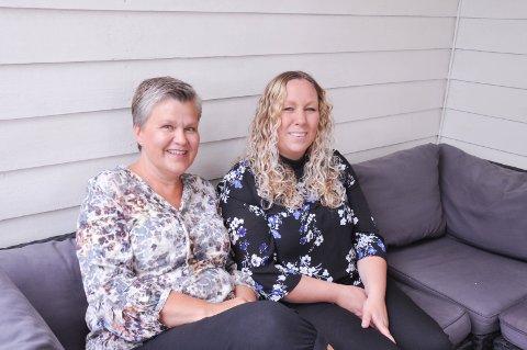 Gleder seg: Anita Bakås Unhammer og Nina Sagafoss smiler med tanken på å starte opp igjen byenglene, de vil hjelpe de som har behov.