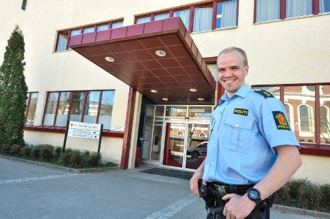 Paul André Carlsen ved Notodden videregående skole