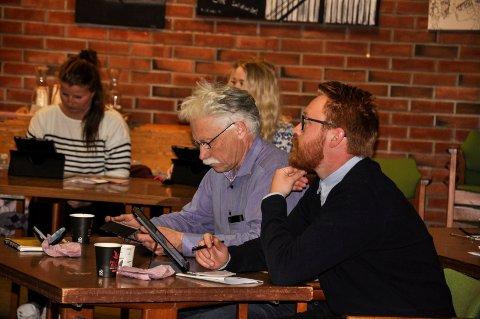 KOLLEKTIVTILBUD: Koalisjonen med Kristoffer Lerstang i spissen ber om at kommunestyret får en sak om kollektivtilbudet fra Notodden mot Oslo.