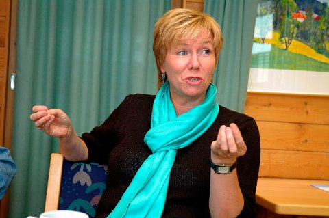 Bytter parti: Den tidligere Sp-dronningen Torunn Hovde Kaasa i Hjartdal bekrefter at hun har meldt overgang til Telemark SV.