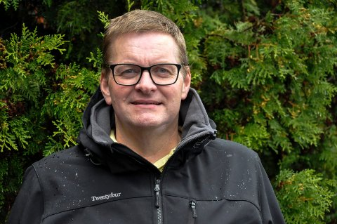 BLIR SJEF: Nå blir Odd-Arne Thorbjørnsen sjef på Tinnesmoen skole - som rektor i et årsvikariat.