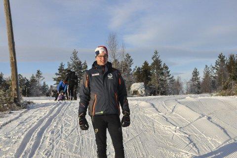 KOMBINERT: Ole Christian Golid håper norgescupen i kombinert kan være døråpner for sporten her i distriktet.