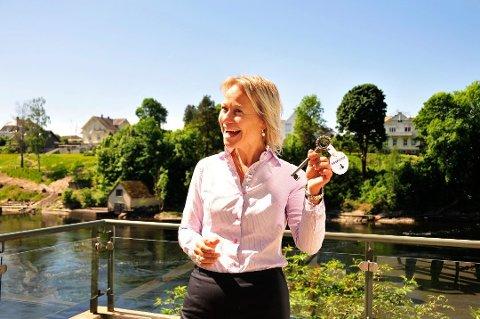GA SEG: Caroline Laurhammer sluttet i jobben i juli. Nå lyser Visit Telemark stillingen som reiselivsdirektør ut for andre gang.