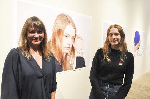 STERKT: – det har vært en strek opplevelse, reisen jeg har tatt i historien på Vemork og her på Notodden og samarbeidet med ungdom som Martine, sier Charlotte This-Evensen.