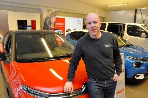 GODE TALL: Av de målte, lokale bilforretningene TA har innhentet tall fra, kan Frode Iversen i Notodden Bil & Speedshop vise til best lønnsomhet.
