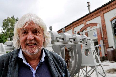 PRISVINNER: Øystein Haugan var mannen som tok opp ideen om verdensarv med Rjukan og Odda, men Odda trakk seg og Notodden kom inn som en naturlig del av industrieventyret Norsk Hydro. Nå er han tildelt den siste kulturprisen fra Telemark fylke.