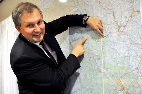 HISTORIE: I dag ønsker fylkesordfører Terje Riis-Johansen over 425 000 innbyggere velkommen til Vestfold og Telemark fylkeskommune.