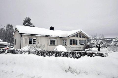 1 850 000: Cappelstuguvegen 19 ligger på Øvre Anundskås på eget i et stille og rolig bomiljø.
