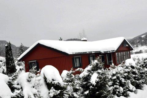 2 300 000: Olav Bjaalands gate 31 ligger på Hellebrekke i nærheten av boligblokkene.