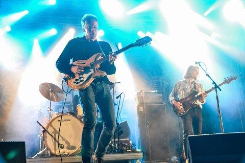 Bigbang med Øystein Greni i spissen er klare med både film og ny plate. Torsdag kveld blir det eksklusiv visning på Notodden. Bildet er fra Notodden Blues Festival 2016.
