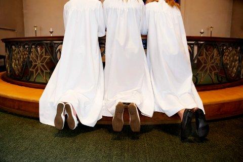 KONFIRMASJONSTRENDER: Mens ungdom i Norge generelt vender ryggen til kirkelig konfirmasjon, er det motsatt i Notodden, Hjartdal og Sauherad.