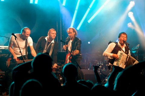 2007: DDE med Bjarne Brøndbo i spissen sørget for god stemning på Høvleriet høsten 2007.