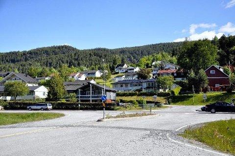 POPULÆRT: Semsjordet har lenge vært det mest populære boligområdet i Heddal. Det drar også boligprisene opp.