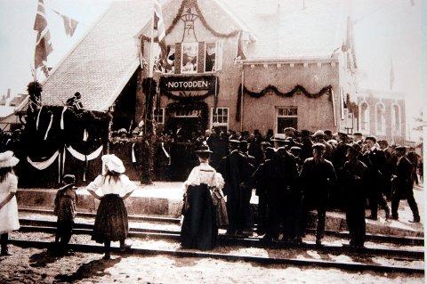 MAREKERES: En av de viktigste begivenhetene i verdensarven, åpningen av Tinnsbanen som fant sted 9. august 1909, skal markeres på 110 årsdagen i morgen.