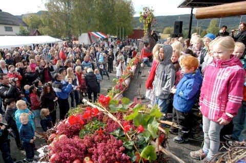 EPLEFEST: Det er igjen duket for Norsk Eplefest i Sauherad denne helgen.