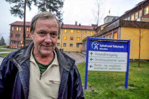 Per Urdahl, klinikksjef ved sykehuset i Telemark avdeling Notodden.