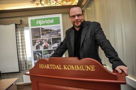 VERN: Nå kan ordfører Odden og Hjartdal kommune smykke seg med enda ett naturreservat.
