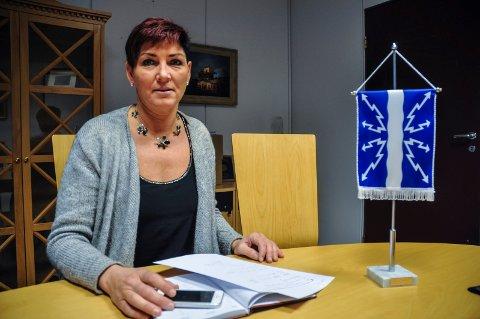 FORNØYD: - Det er grunn til å være fornøyd med 2019 som ga et overskudd på 17,4 millioner kroner, sier ordfører Gry Fuglestveit. Hun roser ansatte og administrasjonen.