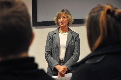 Mie Jørgensen i Nye Helse og sosialutvalget i Notodden fra høst 2015