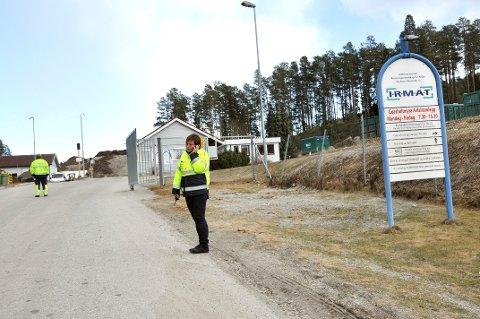 ÅPNER IGJEN: Goasholt avfallsanlegg har vært stengt en periode for å bidra til å hundre spredning av korona-viruset. Nå åpner det igjen også for privatkunder. Arkivfoto
