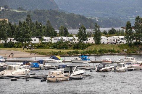 Notodden Bobilcamp Nesøya.