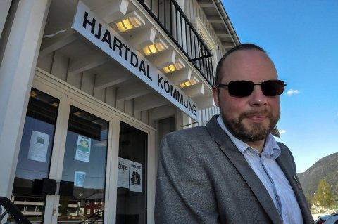 ordfører Bengt Halvard Odden i Hjartdal kommune.