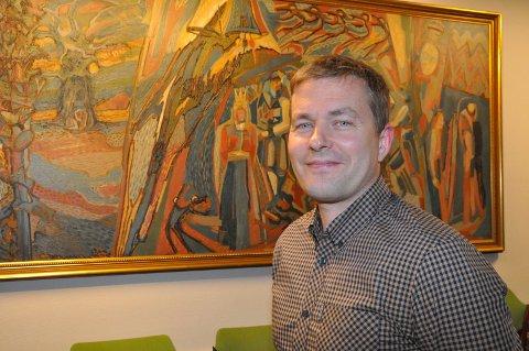 KAN FÅ PLASS: Henning Meyer kan få fast plass i kommunestyregruppa til Notodden Senterparti.