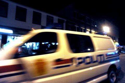 STAKK AV: Tyvene stakk da politiet kom raskt til stedet. Innbruddet ble varslet av en forbipasserende.