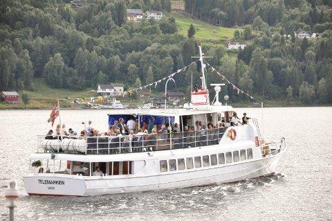 AVLYST: I sommer blir det hverken bluescruise eller torsdagscruise med MS Telemarken på Heddalsvatnet.