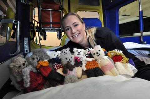 TRAFIKANTER: Leder for ambulansetjenesten, Lene Himberg Krosshus, har vist omsorg for barn tidligere også. Nå snakker hun de myke trafikantenes sak, og spesielt barnas. Hun ønsker bedre skilting, for å være føre var.
