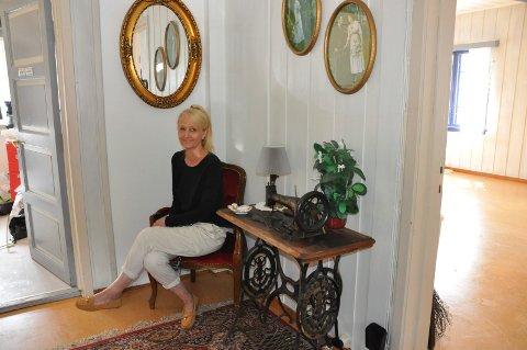 På plass: Anne Sofie Vosgraff ser fram til å kunne åpne dørene og ta imot gjestene.