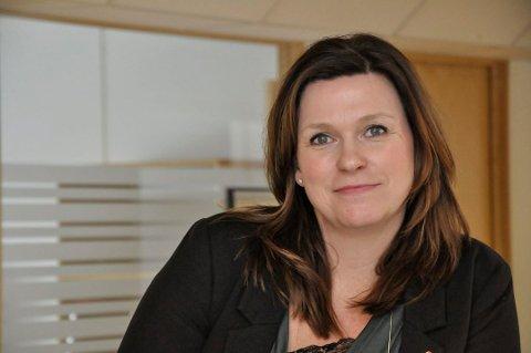 FLERE TILBAKE: Nav-sjef Tove Merethe Birkelund er glad for den kraftige nedgangen i antall permitterte på Notodden.