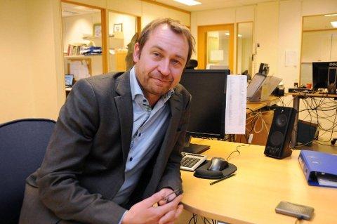 PENDLERE: Kommunikasjonssjef Lars Kittilsen opplyser at Sykehuset Telemark nå har en lavere terskel for å teste og screene ansatte på grunn av utbruddet av mutert koronavirus i Nordre Follo.