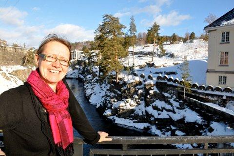 VIL SPØRRE DEG: Gunhild Tveiten Garberg er kommuneplanlegger og ønsker å høre hvordan folk vil at kommunen skal være som bosted om 10-20 år.