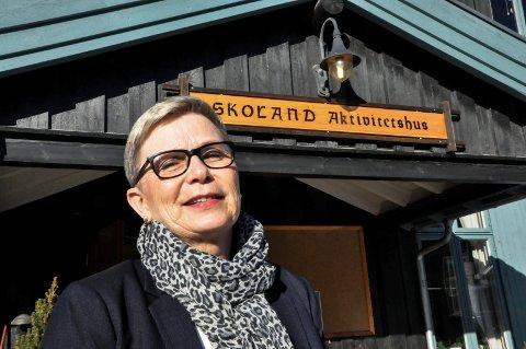 ENSOMHET: Gunn Karin Slaaen Rørvik får tilbakemeldinger om at en del synes det er tøffe tider nå som man ikke kan benytte de tilbudene man vanligvis benytter.