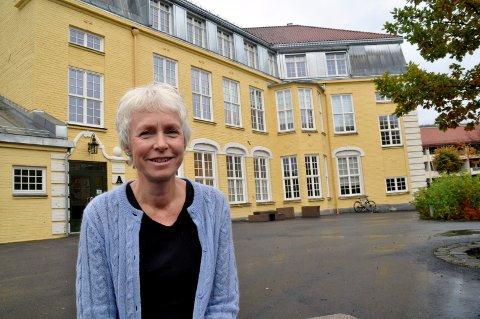 KORONAVAKSINE: Vaksinekoordinator i Notodden kommune, Åshild Bergstøl er fornøyd med fremdriften i koronavaksineringen.