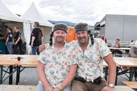 MATCHER: De to kompisene Tom Engravslia og Magne Bentdal matcher hvert eneste år på bluesfestivalen. Luene er 22 år gamle og er alltid med.