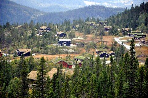 FLUGONFJELL: Det har vært en rivende utvikling i Flugonfjell, nå er ei hytte solgt for seks millioner.