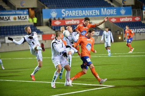 Aalesund vant mot KBK fredag kveld.