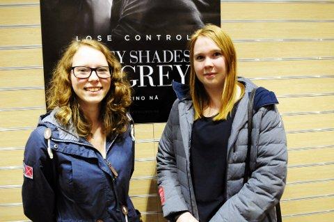 Ine Sivertsen og Elisabeth Gaarden syntes filmen var bra.