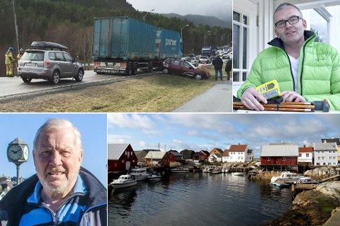 Kollisjon på Rensvik, Emil Koht-Tøfte som ble tatt av skred, Knut Baardsets Tjeldbergodden-historie og påskefering på Grip var noen av begivenhetene i høytiden.