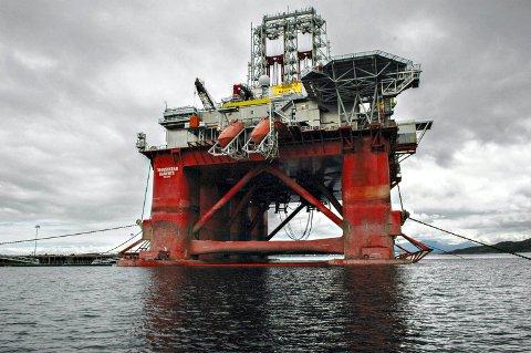 «Transocean Barents» er en av oljeriggene som har gjort utført leteboring i Norskehavet.