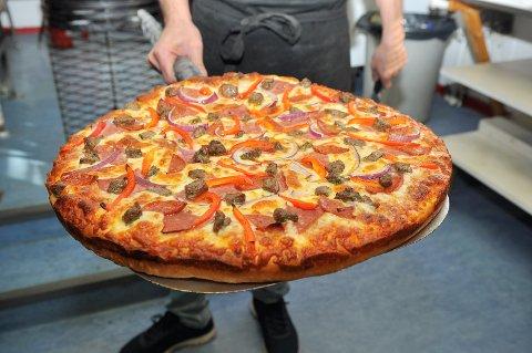 Bens Pizza & Grill i Kristiansund skal fortsette å selge mange slike framover.