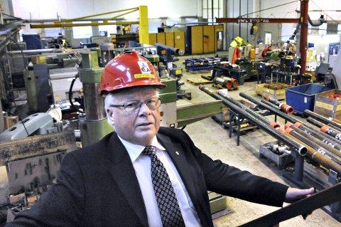 Ny avtale: Oss-nor-gründer Arnt Wærnes  er glad for ny avtale ned Statoil.