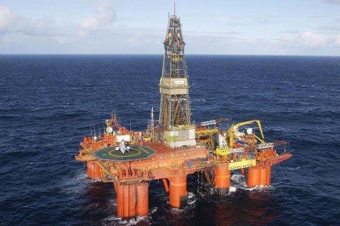 Deepsea Bergen skal i aksjon i Norskehavet.