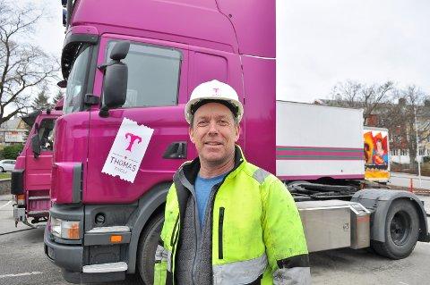 Tivolidirektør Arne Grønnesby gleder seg til tivoliet har kommet på plass og dørene kan åpne i Kristiansund - Norges tivoliby nummer én.