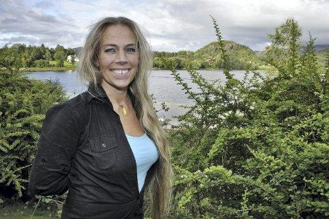 I sommer skal Line Kristiansen Cancino utgi sin første bok.