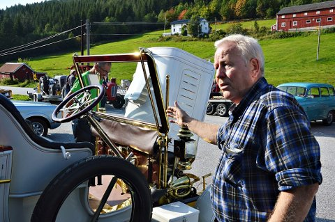 Tilbakeblikk: Asbjørn Heimlund med sin «Apollo 1910» sette preg på Bøfjord-helga.