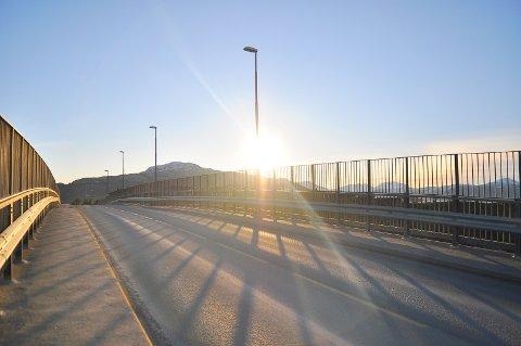 Vinterferieværet på Nordmøre til nå har vært et eneste stort solsmil.