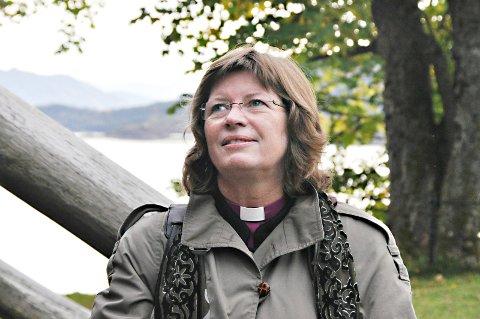 Ingeborg Midttømme får nok å gjøre når hun kommer til  bispevisitas hos menigheten på Nordlandet i neste uke.